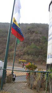 Arribo al Helipuerto El Avila, en el Distrito Federal, en el año 2013.