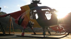 Escultura 'El Espíritu de la Guacamaya', 2013.
