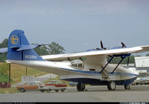 BuNo48446. N5591V PBY-5A cn 1808 Transamerica Trade. Foto Michael Prophet. 1978.