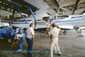BuNo48446. YV-209CP Peter Bottome. Charallave, November 4, 1983. De espaldas,