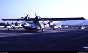 BuNo48446.1988-0809.N285NJ-PBY-5A-Enrico-Recchi-en-Cannes-Mandelieu-Airport-CEQ.-Foto-Rolf-Larsson.-09-Ago-1988