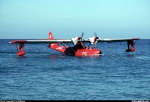 BuNo02963.1997-0531.N322FA. PBY5-A Avalon - Pebbly Beach Seaplane (L11), CA, USA.Stephen Tornblom