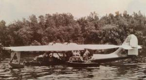 BuNoUnk1.1948-55.YV-P-AEP.Hidroavión Catalina, Capure, Monagas, ruta Pedernales, Temblador, Tucupita, 1948