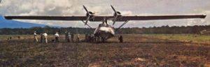 YVCatalinas6.BuNoUnk1.1954.YV-P-AEP Catalina con la expedición de Billy y Kathy Phelps, La Esmeralda, 1954