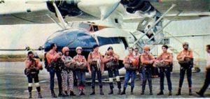 No4837448412.1970.Catalina-en-demostración-del-primer-salto-masivo-de-paracaidistas-en-el-Rio-Oinoco-1970-frente-a-Puerto-Ordaz.MauroFernandoBalarezo