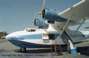 BuNo48412. YV-485C Italo Compagna SERVES, Caracas. 17 Feb 1993