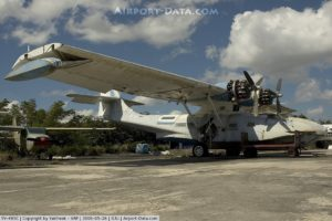 BuNo48412.2006-0526.YV-485C Consolidated PBY Catalina. Photograph by Yakfreak