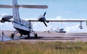 BuNo48374.1978.YV-O-CFO-2-CONSOLIDATED-PBY-5-Catalina-YV-O-CVG-5-BEECHCRAFT-Super-King-Air-200-YV-O-CFO-6-CANADAIR-CL-215.Aeropuerto-Manuel-Piar-de-Puerto-Ordaz