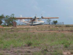 BuNo48374. YV-584CP, Puerto Ordaz, previo a ser desguazado