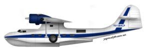 BuNo48374 YV-584CP Consolidated PBY-5A cn 1736 profile por Gonzalo Leal, Alas de Venezuela