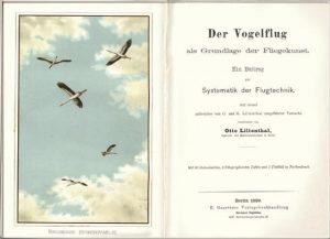 Lilienthal11Libro.Der Vogelflug als Grunglage der Fliegenkuntst