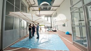 Lilienthal84DLR.DLR investigates the manoeuvrability of the Lilienthal glider.Lilienthal_3_xl