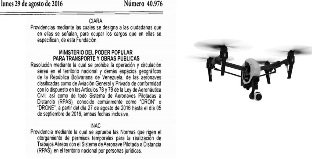 drones-legislacion-venezuela-requisitos