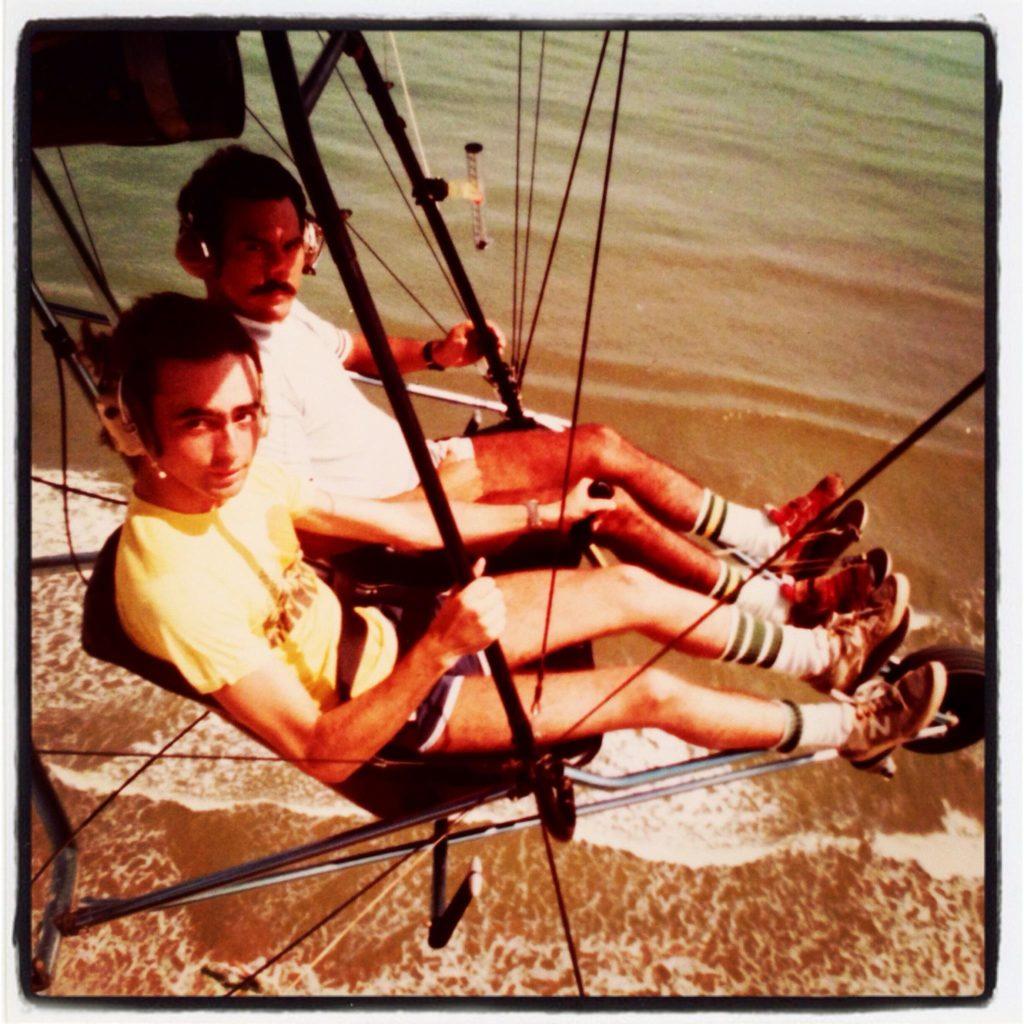 Jose Felix Rivas con Jimmy Marull en Río Chico