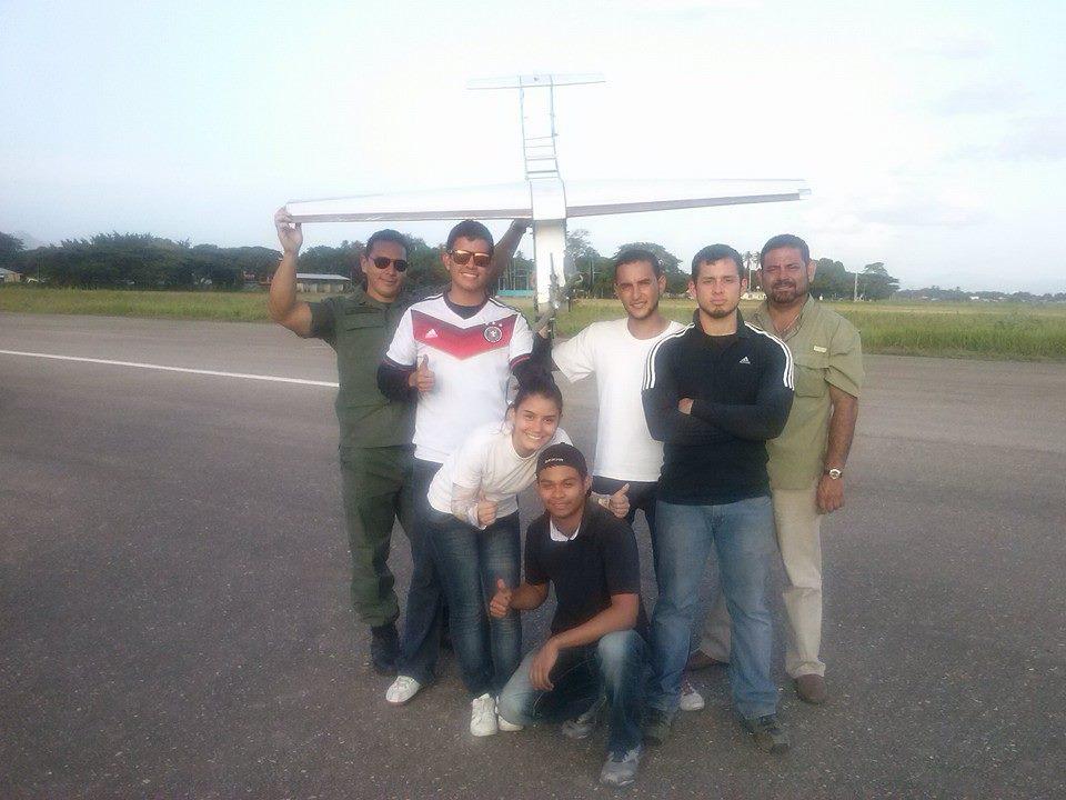 El equipo Caricare, ganador de la competencia Venezuela 2014.