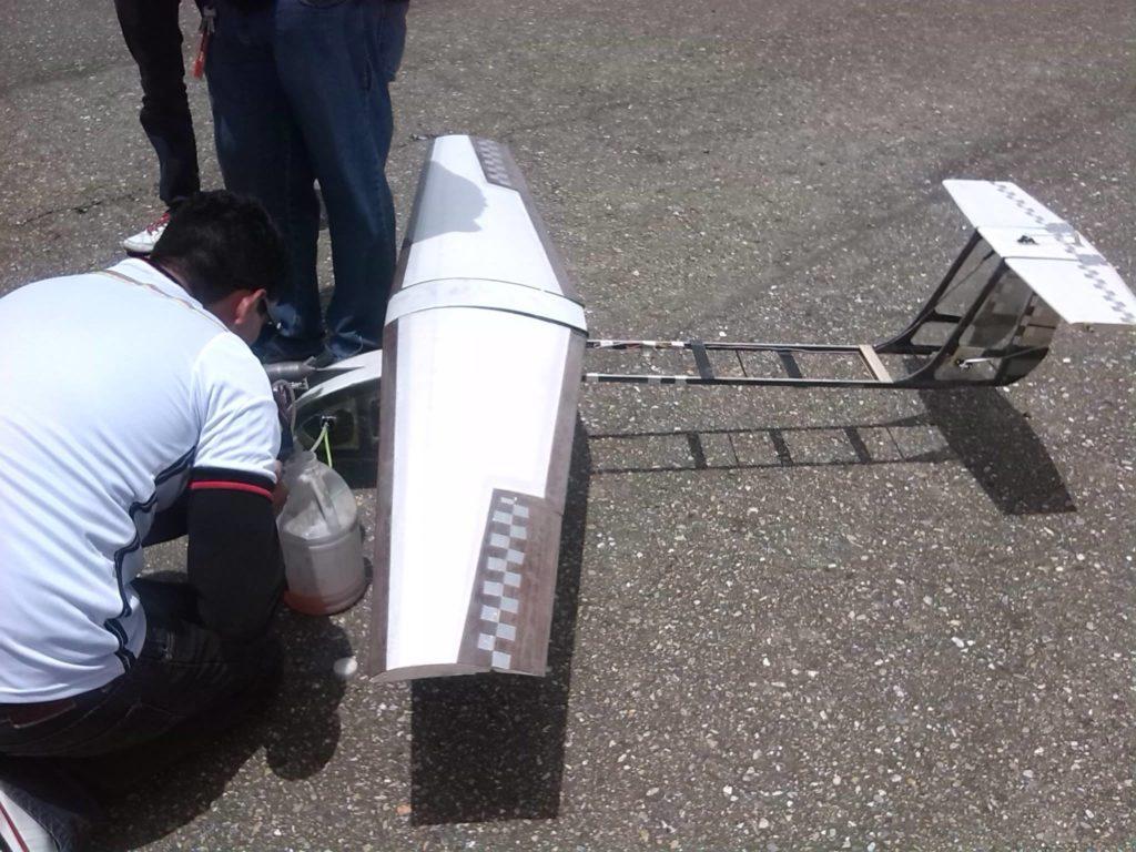 Preparación previa al vuelo Caricare IV