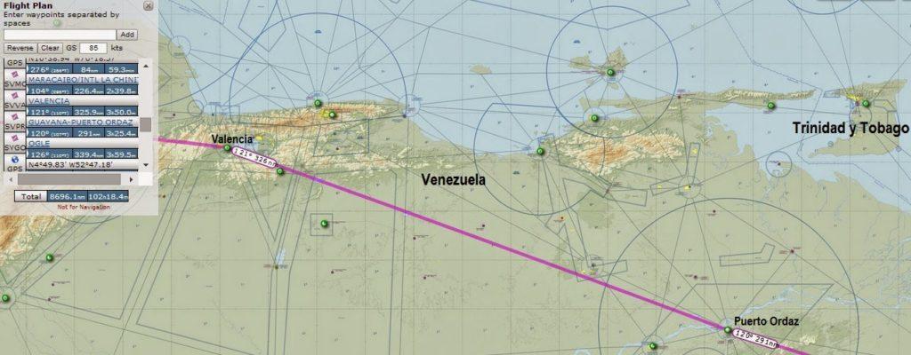 Valencia - Puerto Ordaz