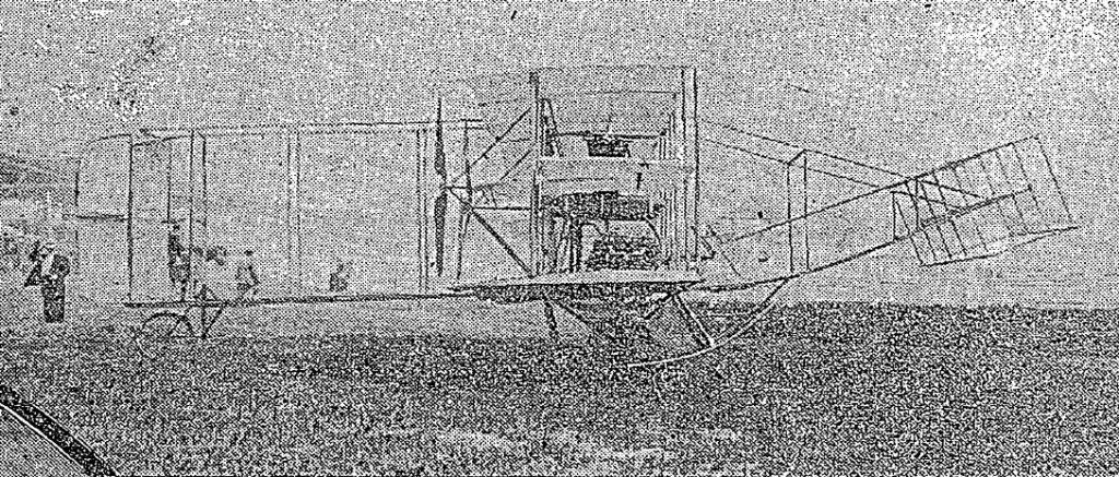 Miss Todd aircraft